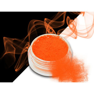 Ráj nehtů Smoke pigment - Neon Orange