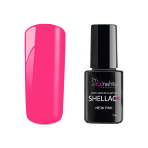 Ráj nehtů UV gel lak Shellac Me 12ml - Neon Pink