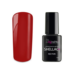 Ráj nehtů UV gel lak Shellac Me 12ml - Red Pure