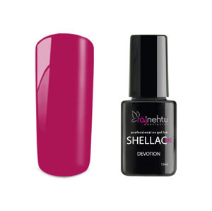 Ráj nehtů UV gel lak Shellac Me 12ml - Devotion