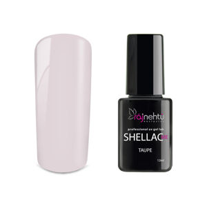 Ráj nehtů UV gel lak Shellac Me 12ml - Taupe