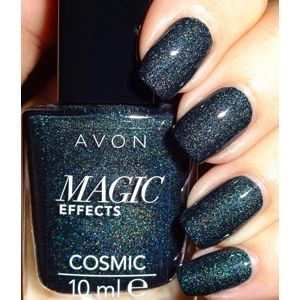 Avon Lak na nehty Gel Shine -  Black Magic