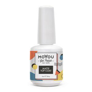 MoYou Premium Gel lak - Matte Top Coat 15ml