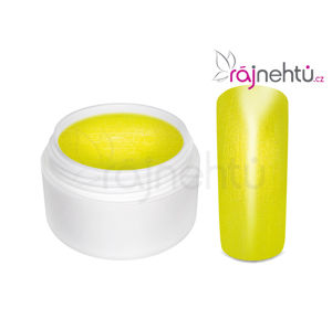 Ráj nehtů Barevný UV gel GOLDEN - Yellow - 5ml
