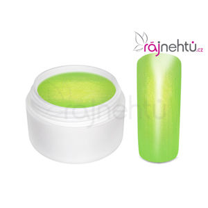 Ráj nehtů Barevný UV gel GOLDEN - Poison Green - 5ml