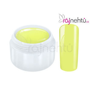 Ráj nehtů Barevný UV gel POPART - Yellow 5 ml