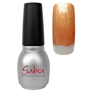 CEDRO  sole GABRA gel lak All in One - Bronzový glitter
